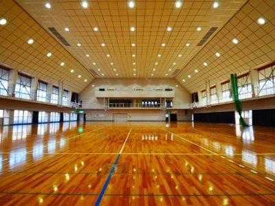 若葉高等学校体育館耐震工事